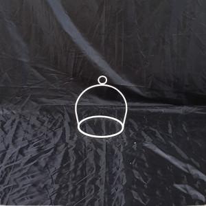 Supporto per boules metallo bianco