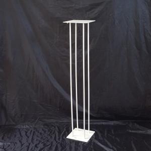 Colonna metallo bianco