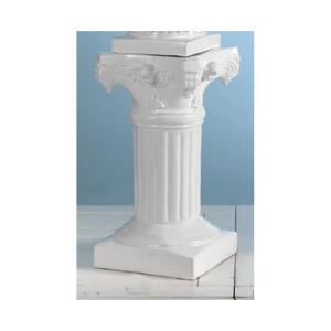 Colonna vetroresina bianco