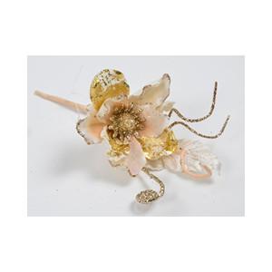 Glitter magnolia pick crema