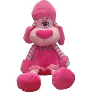 Peluche 42 barboncino rosa