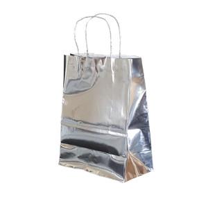 Shopper smart met 24x31 argento (25pz)