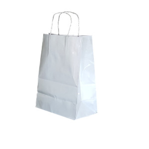 Shopper smart met 24x31 bianco (25pz)