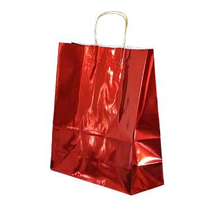 Shopper smart met. 34x40 rosso (25pz)