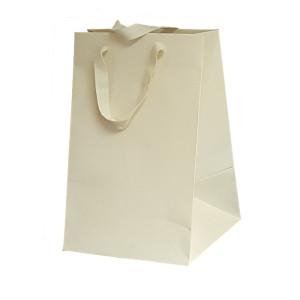 Shopper carta lusso 23x35 crema (10pz)