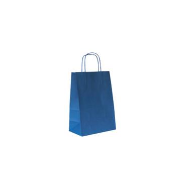 Shopper 16×21 carta col. azzurro (pz.25)