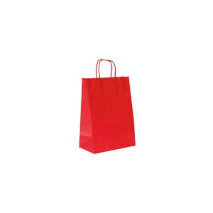 Shopper carta 16x21 rosso (25pz)