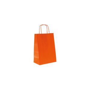 Shopper carta 22x31 arancione (25pz)