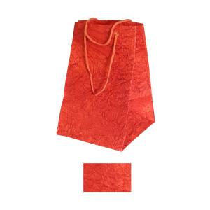 Shopper crepe maxi 24x36 rosso (10pz)