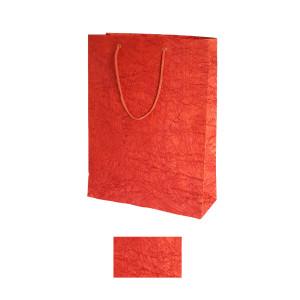 Shopper crepe grande 36x45 rosso (10pz)