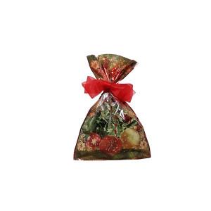 Busta vischio 22×35 fondo traforato rosso (100pz)