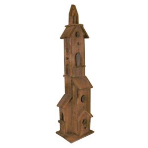 Campanile legno h. 110 cm.