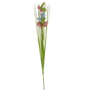 Steli erba con farfalle pick