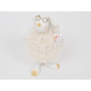 Pecora 18 cm. con occhiali