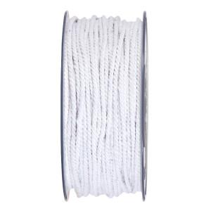 Cordino cotone mm. 5x30 mt bianco