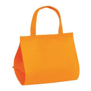 Borsa cm. 36x32 h.25 arancio