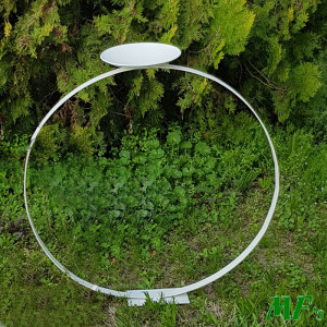 Alzata cerchio c/portacandela d.80