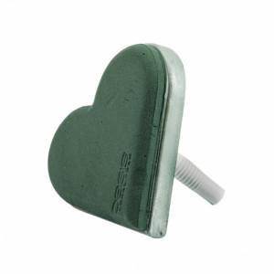 Base spugna cuore per bouquet (pz 2)