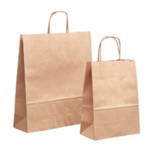 Shopper 25x30 avana bag for cake (25pz)