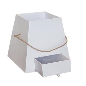 Scatola trapezio con cassetto 13x18