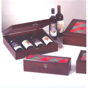 Casseta legno 4 bottiglie