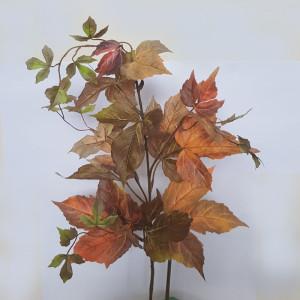 Acero 17 foglie cm.78 verde arancio