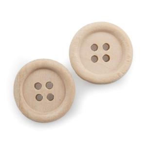 Bottone legno d.2 (pz.36)