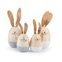 Coniglietto legno 2 misure (pz.6)