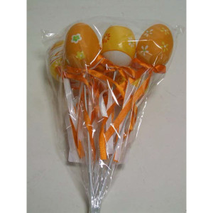 Uova pick cm.06 arancio (pz.6)