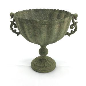 CM-Coppa metallo h.19 verde