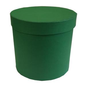 Scatola regalo cilindro d.15 verde