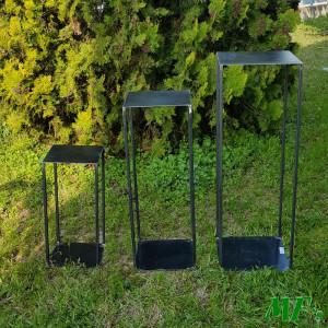 ME-Alzata metallo industrial 180 (set 3)