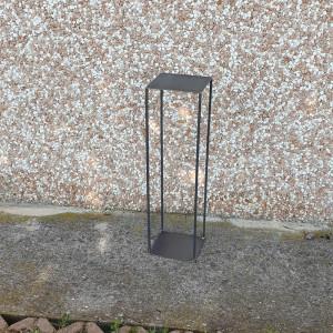 ME-Alzata metallo grezzo h.50