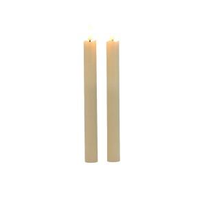 Candela stelo LED h.24 (pz.2)