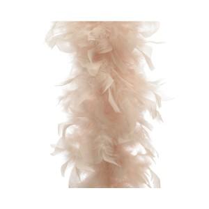 Boa piume cm.184 perla