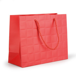 Shopper carta 18x23 rosso (pz.10)