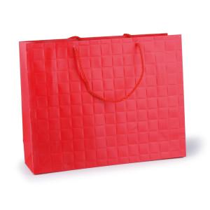 Shopper carta 26x31 rosso (pz.10)