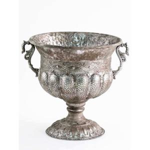 CA-Coppa metallo h.43 argento