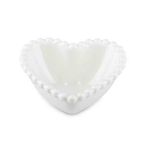 Ciotola cuore cm.08 bianco (pz.15)