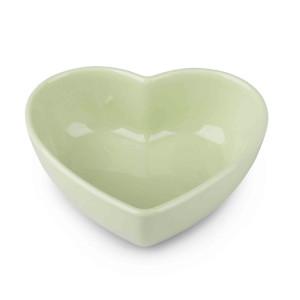 Ciotola cuore cm.08 verde (pz.15)