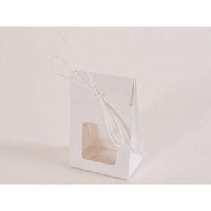 borsa con finestra 09x06 bianco (pz.12)