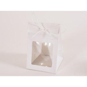 borsa con finestra 08x08 bianco (pz.12)