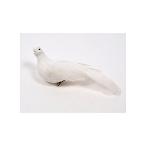 Colomba clip cm.18 bianco (pz.12)