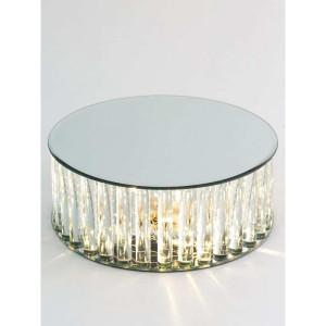 AL-Alzata specchio LED d.30 h.10