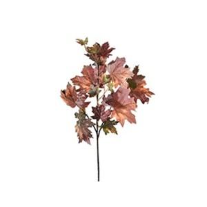 Acero ramo cm.62 rosso-arancio