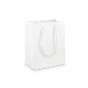 Shopper 12x15 h.7 bianco (pz.20)