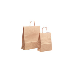 Shopper 16x21 carta avana (pz.25)
