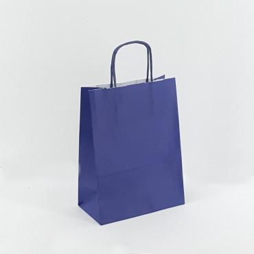 Shopper 16×21 carta col. blu (pz.25)