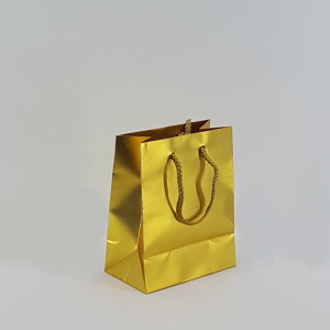 Shopper shop 12x15 giallo oro (12pz)