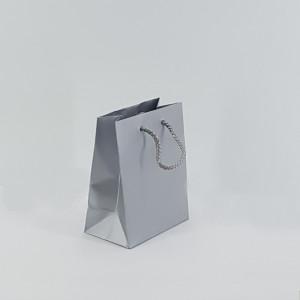 Shopper shop 16x19 argento (12pz)